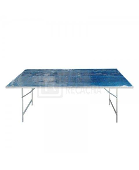 Mesa de Aluminio 200 x 120cm