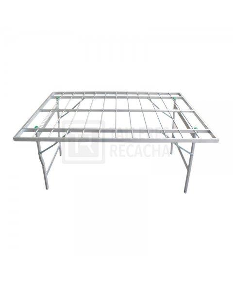 Mesa de Aluminio sin Resina