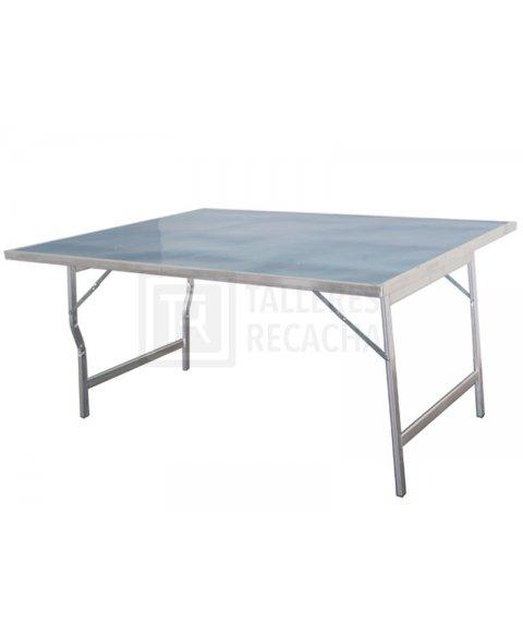Mesa de aluminio para mercado