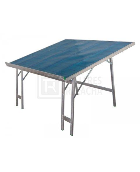 Mesa de Aluminio Inclinada